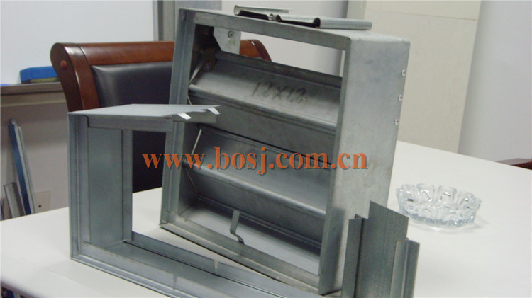 Air Conditioner Parts Steering Rectangular Air Flow Regulate Roll Forming Production Line Jeddah