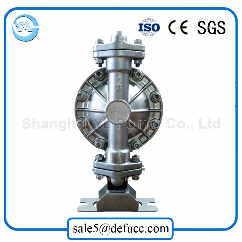 Air-Operated Double Diaphragm Sand Suction Stainless Steel Pump