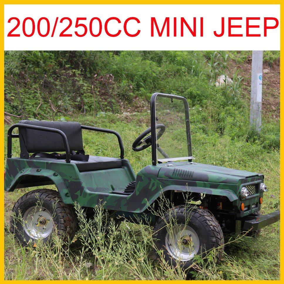 China Newest Willys Mini Jeep for Sale 110cc 125cc 150cc 200cc 250cc Optional