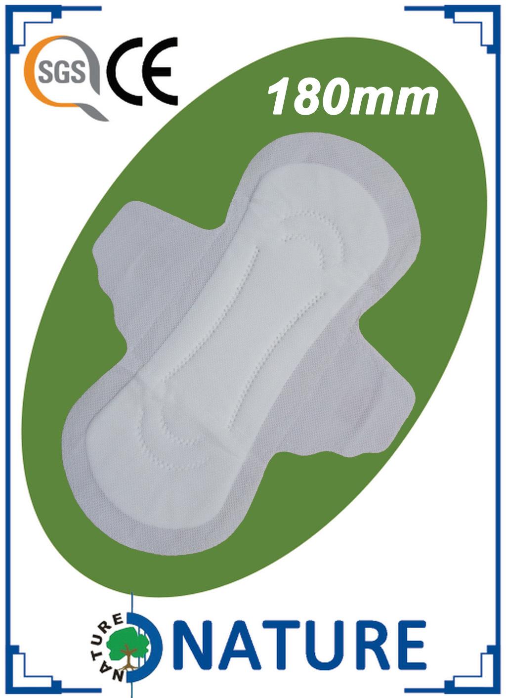 Maxi Size Colorful Indididual Wrap Sanitary Napkin for Menstrual Period