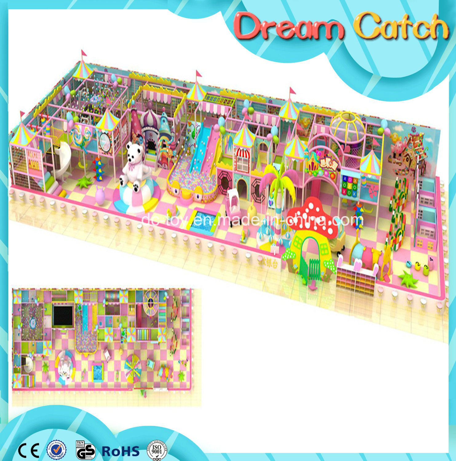 2017 Children Soft Indoor Playground for Sale