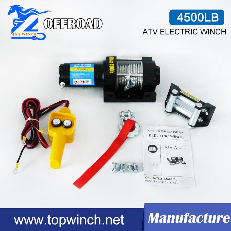 off-Road Winch & Truck Winch & Tractor Winch (UTV 4500lb-1)