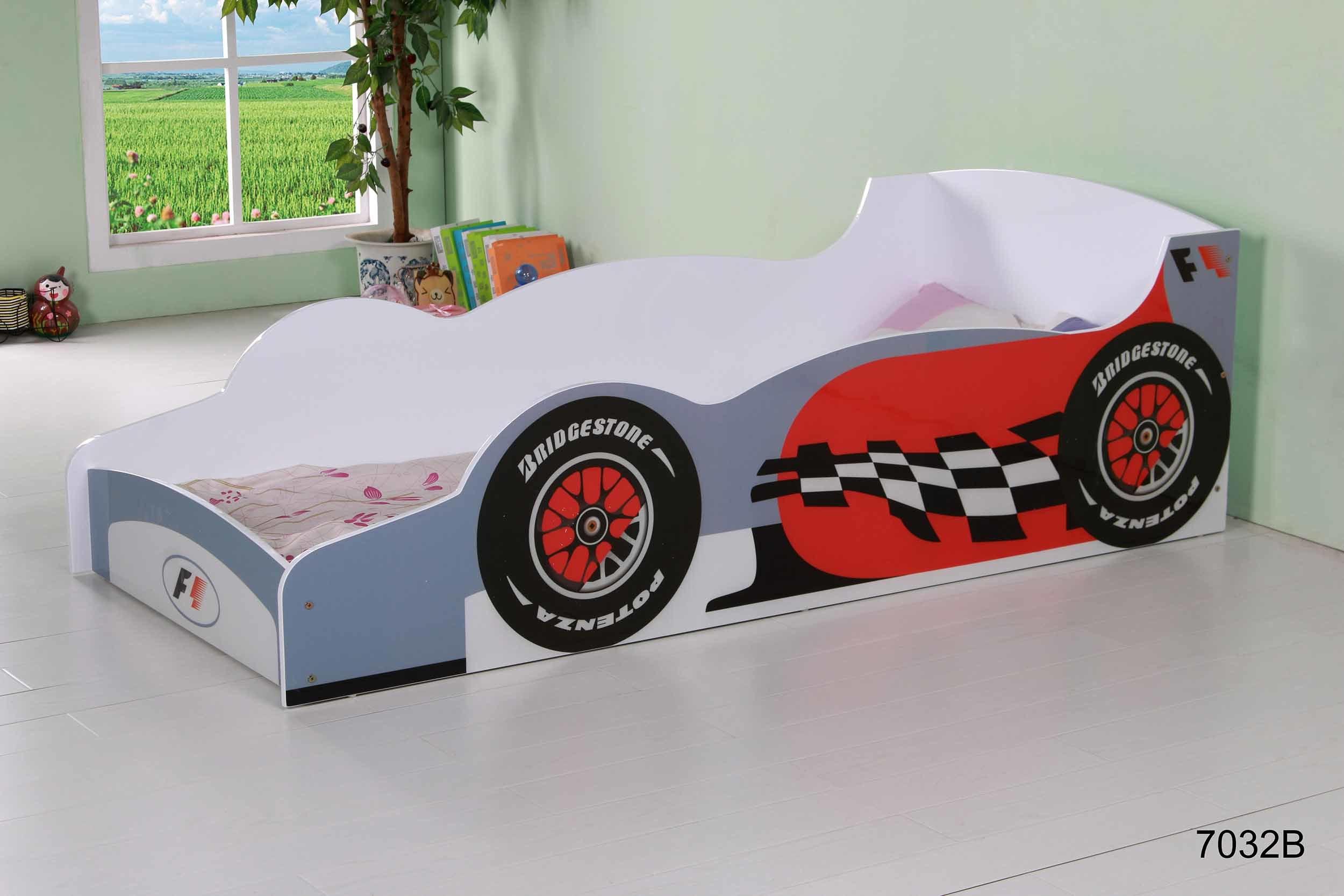 Children Racing Car Bed Infant Bed Child Furniture Bedroom