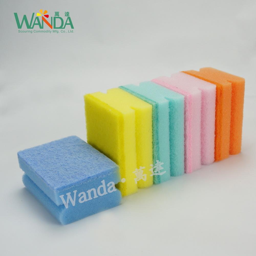 Powerful High Density Cleaning Sponge Sponge Scourer for Household Cleaning