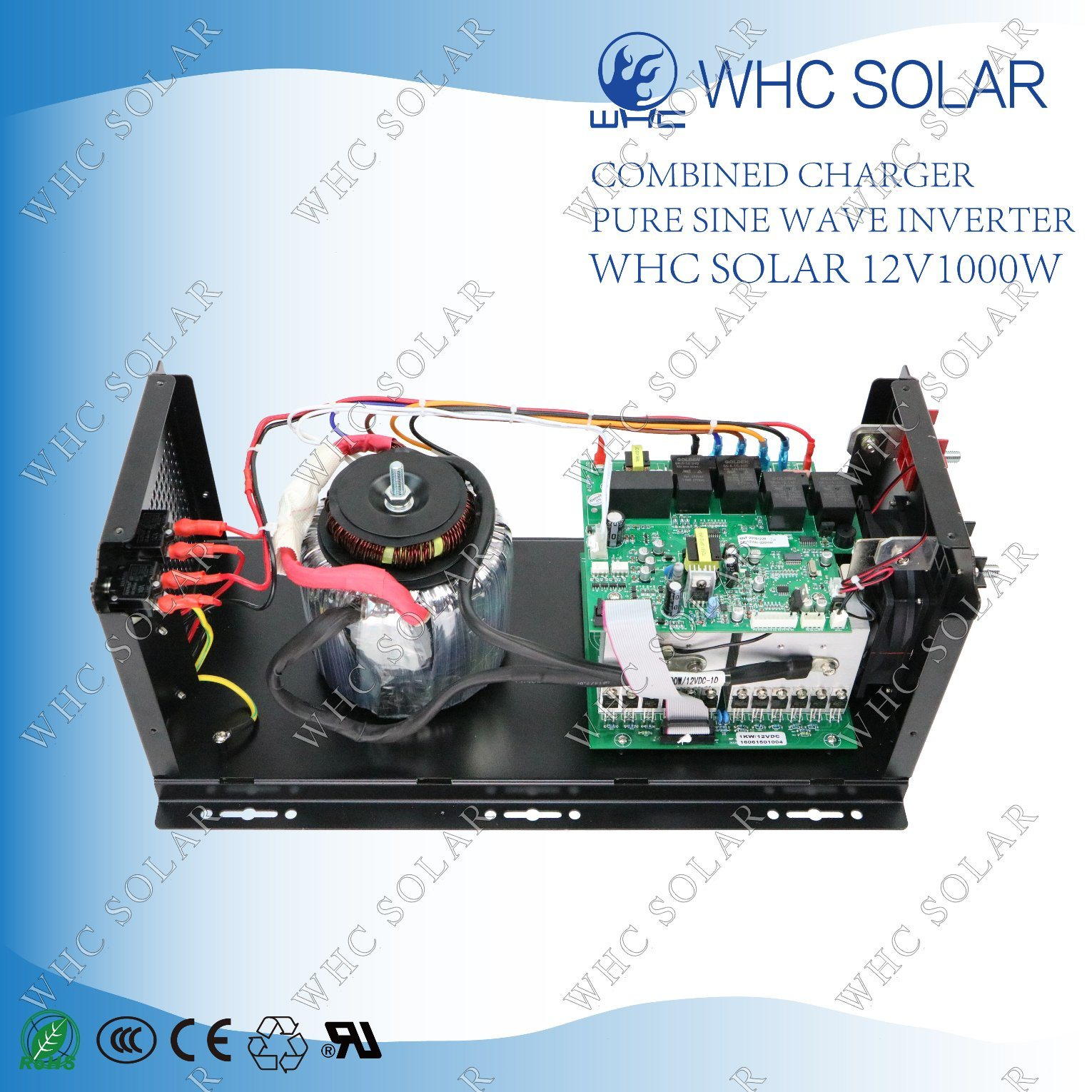 Intelligent Low Frequency Solar Power 1000W Inverter