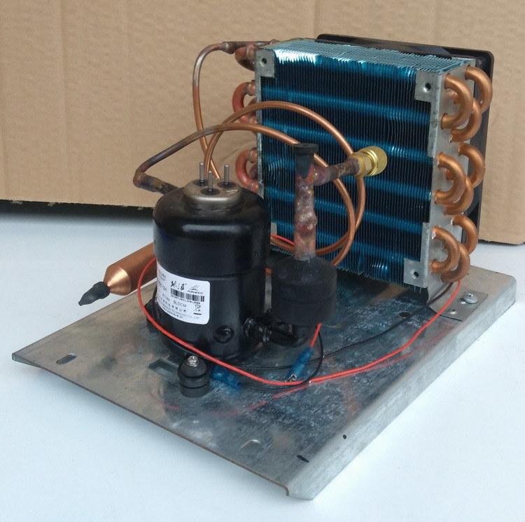 Purswave St14DC24h DC Tiny Refrigeration Compressor DC 24V for Mini Water Cooler Refrigeraor, Air-Conditioner, Cooling Capacity 100~300W Rotary Compressor