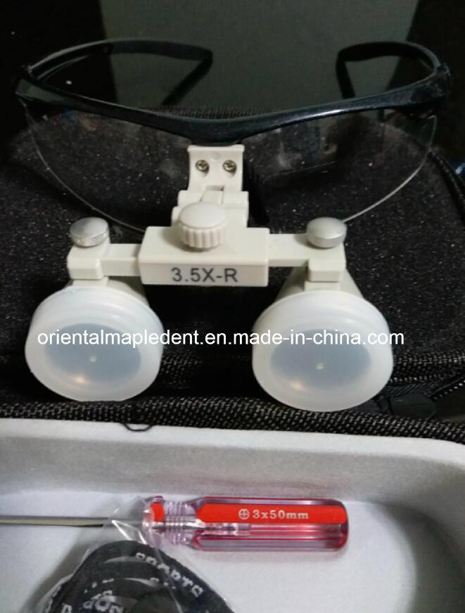 Dental Magnification Binocular LED Loupes (Om-Dl007)