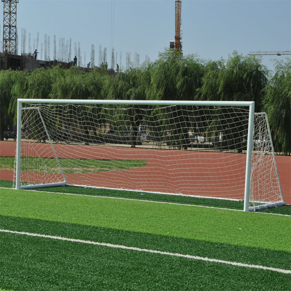 Official Rregulation Full Size 8′ X 24′ Aluminum Professional Soccer Goal