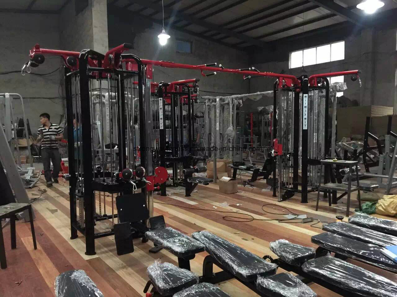 Eight Station Multi-Jungle, Fitness Gym Equipment
