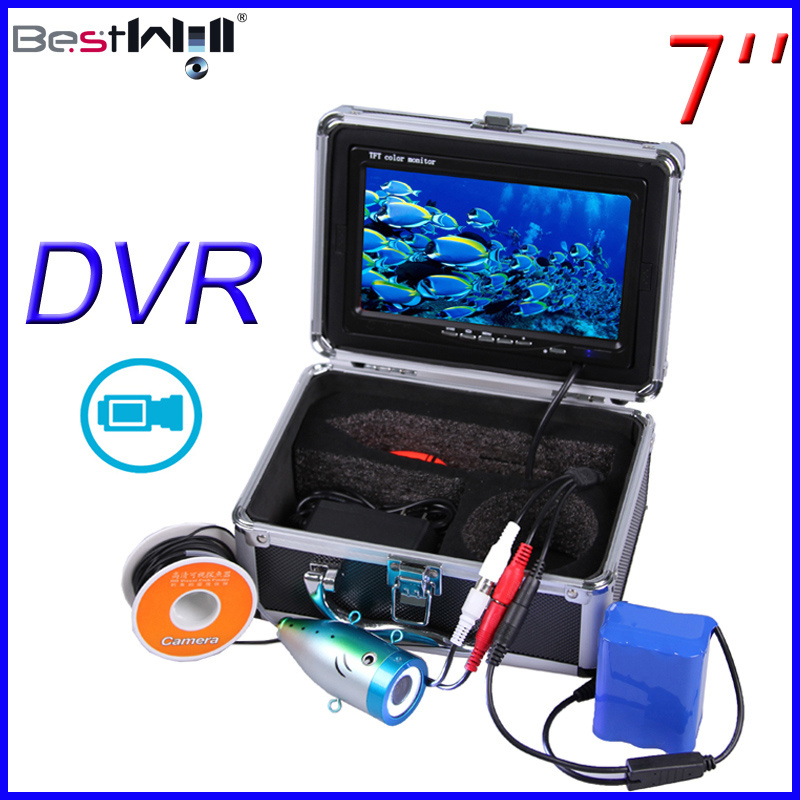 HD 1000 Tvl Underwater Fishing Camera Ice Fishing Video Camera of CR110-7L with DVR Video Recording