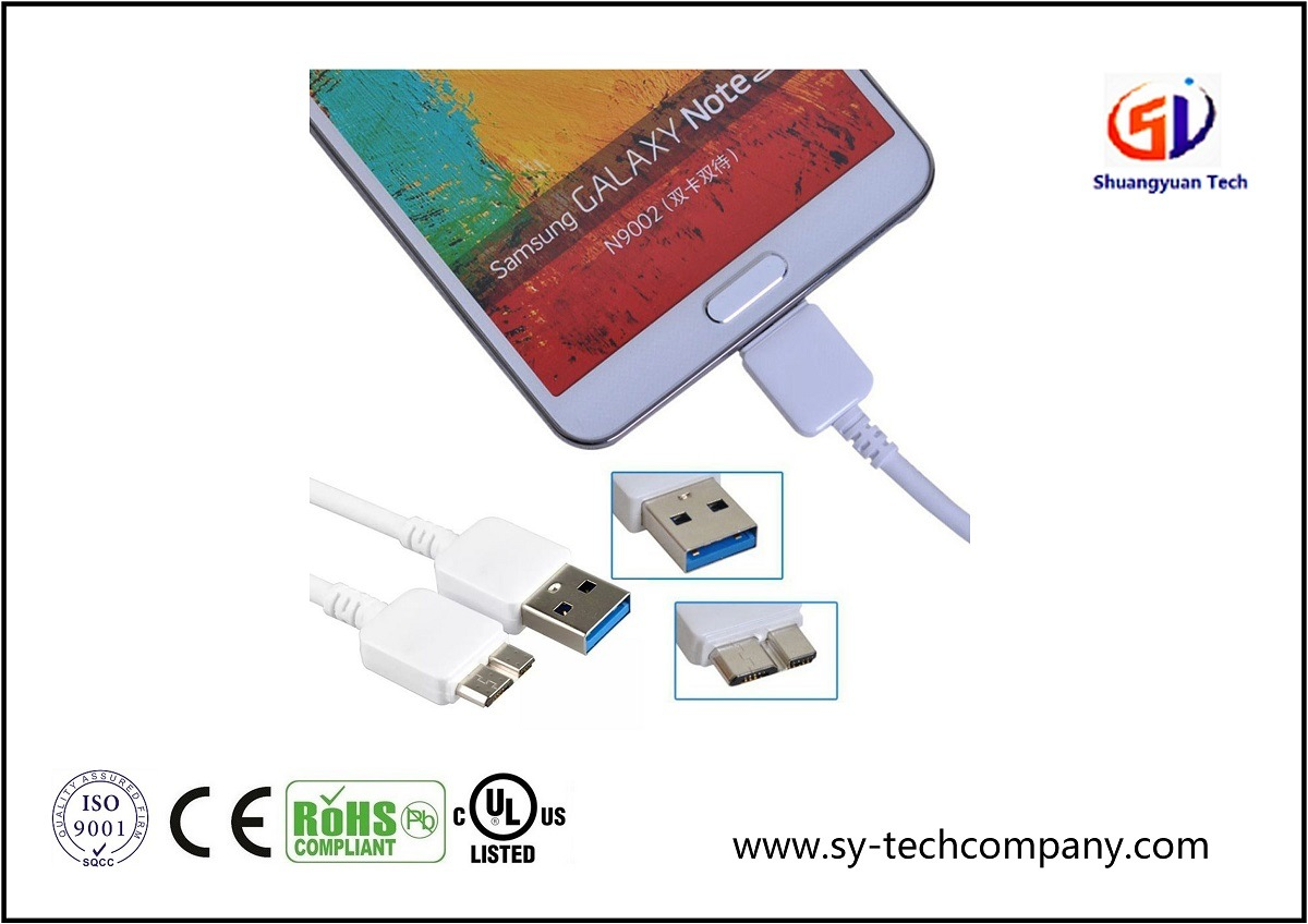 USB 3.0 Data and Charging Cable for Samsung
