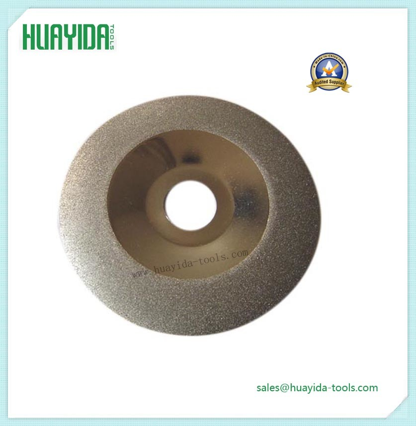 Pull Type Electroplated Diamond Grinding Wheel for Ceramic Andmetal