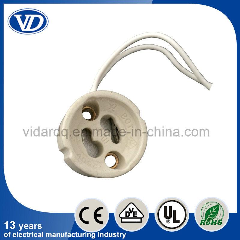 LED GU10 Halogen Lamp Holder Ce VDE RoHS for Spot Light