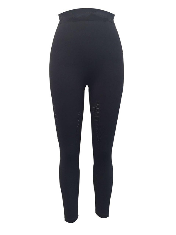 Women′s Seamless Long Holed Pants