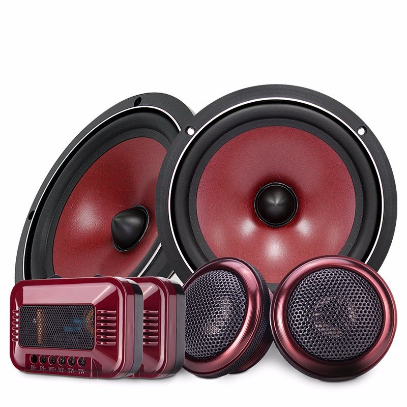 High-End Paper Material 6.5 Inch Audio Component Subwoofer Car Speakers