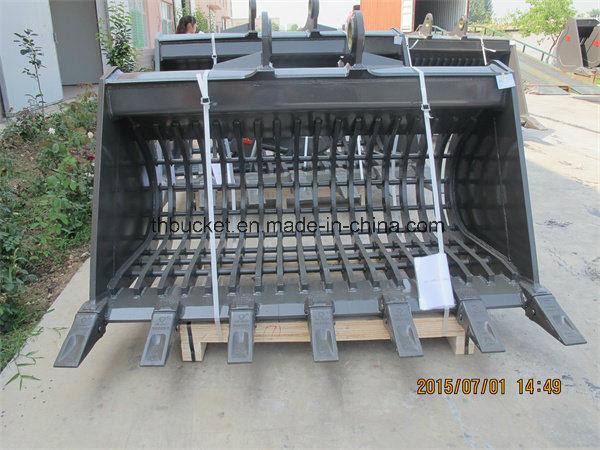 30t Excavator Grating/Grilling/Skeleton Bucket for All Brand Excavator