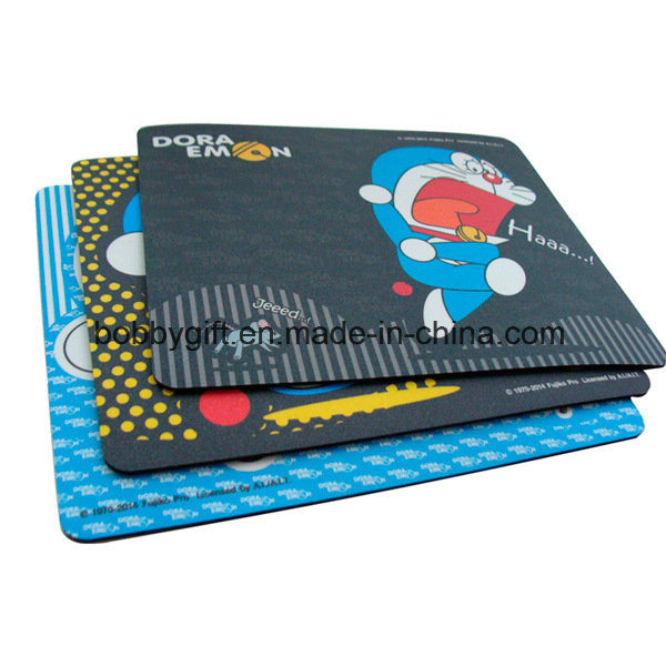 Promotional Printed Logo Computer Mouse Mat EVA Mouse Pad