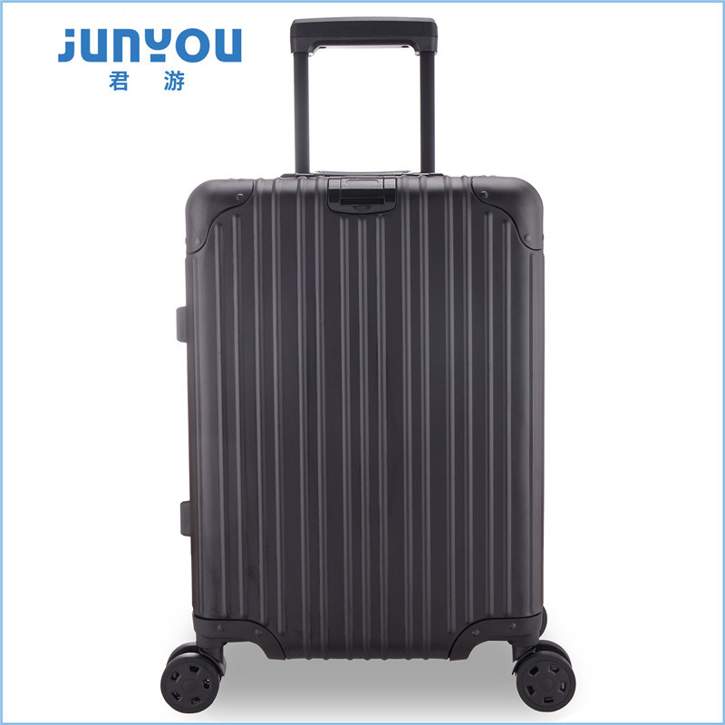 Junyou New Items Leisure Aluminum 20 24 Inch Womens Luggage