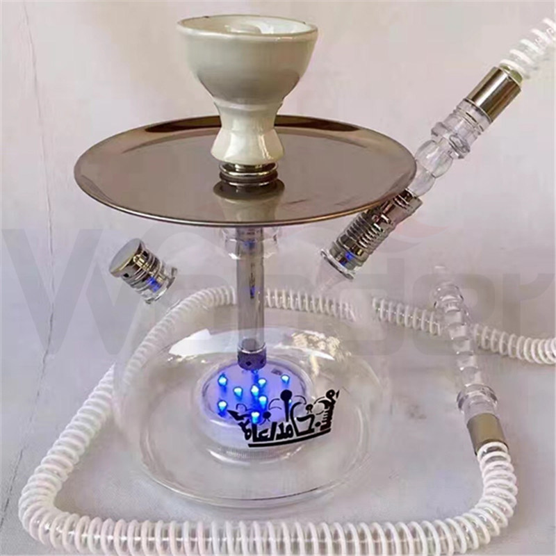 Most Popular Hookah with Acrylic Material