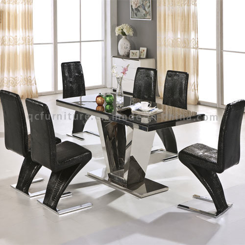 China Modern Marble Top Dining Table Chair Sets For Wholesale