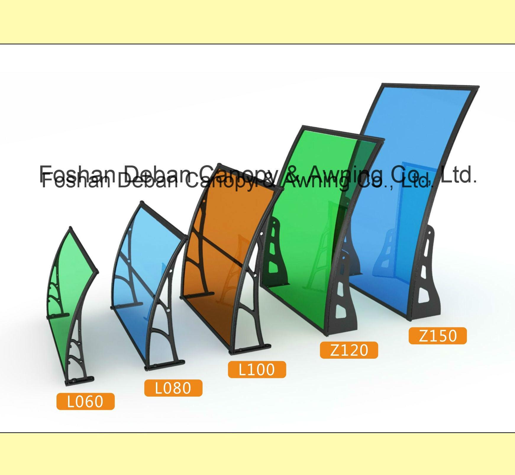 Aluminum /Polycarbonate Awning for Doors and Windows /Sunshade