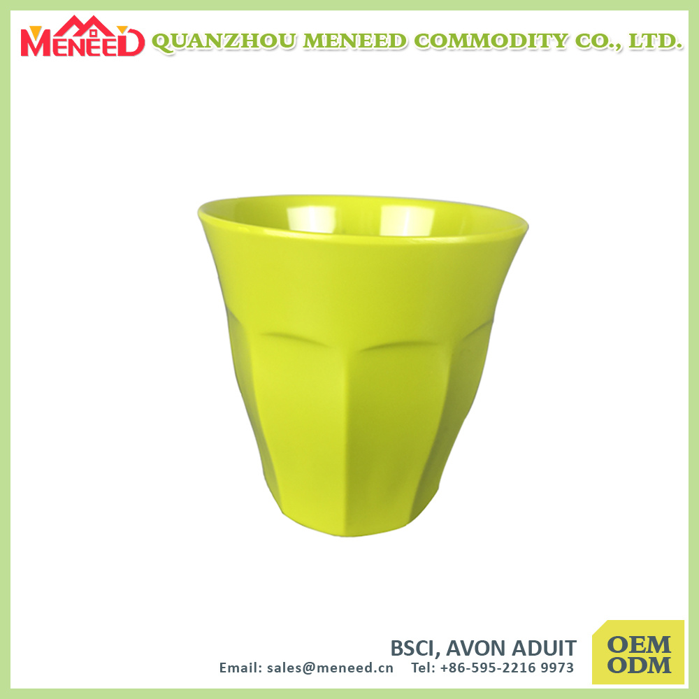 Solid Color 300ml Melamine Beer Cup
