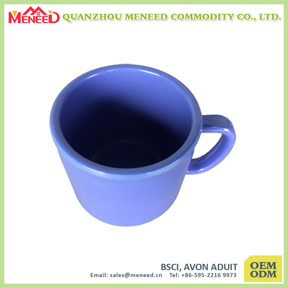 Coffee Shop Use Solid Color Melamine Coffee Mug