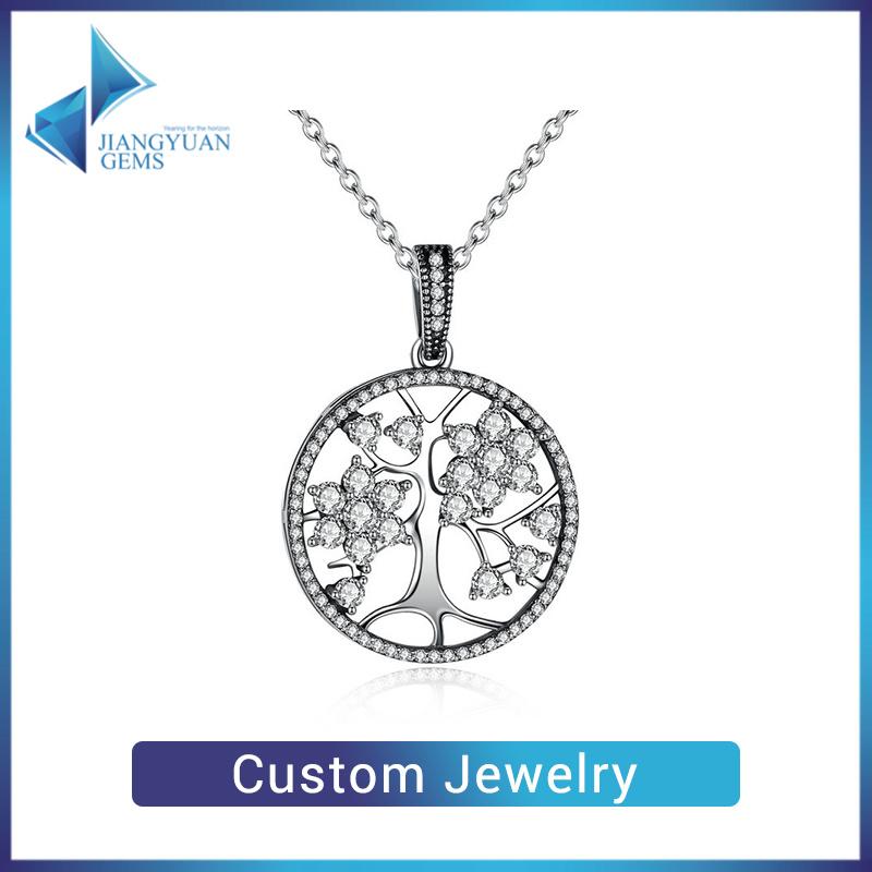Custom 925 Sterling Silver Jewellery Custom Necklace