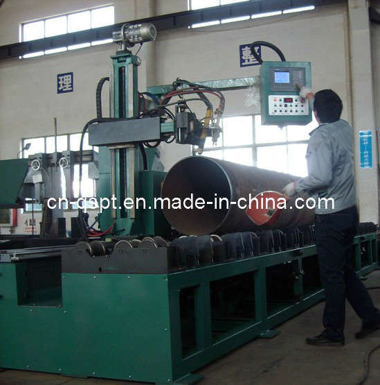 CNC Pipe Flame/ Plasma Beveling & Cutting Machine (Roller Bench Type)