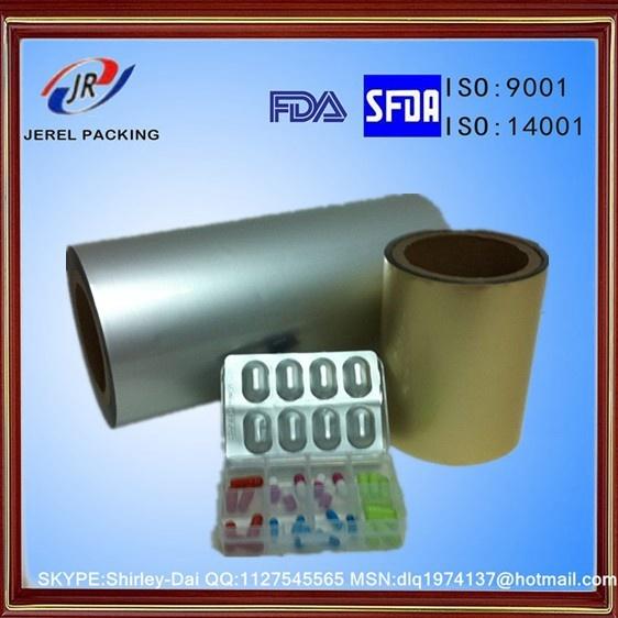 Silver Aluminum Cold-Form Laminiated Foil