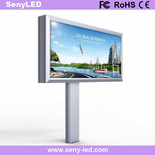 Voltage Automatic Adjustable 110V to 240V Outdoor Advertising Billboard LED Digital Sign (P10mm)