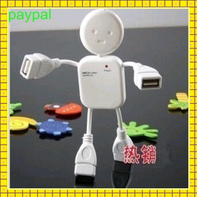 White Doll Design 4 Port USB Hub (gc-h002)