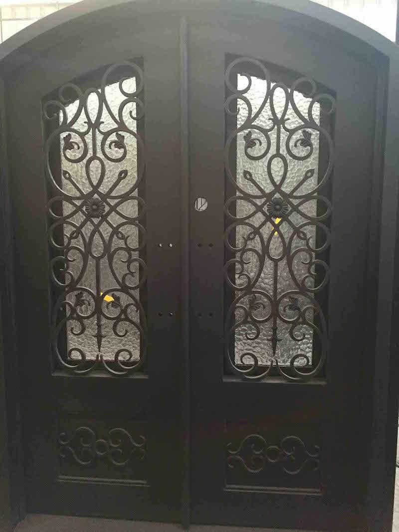 Handmade Customized Wrought Iron Door