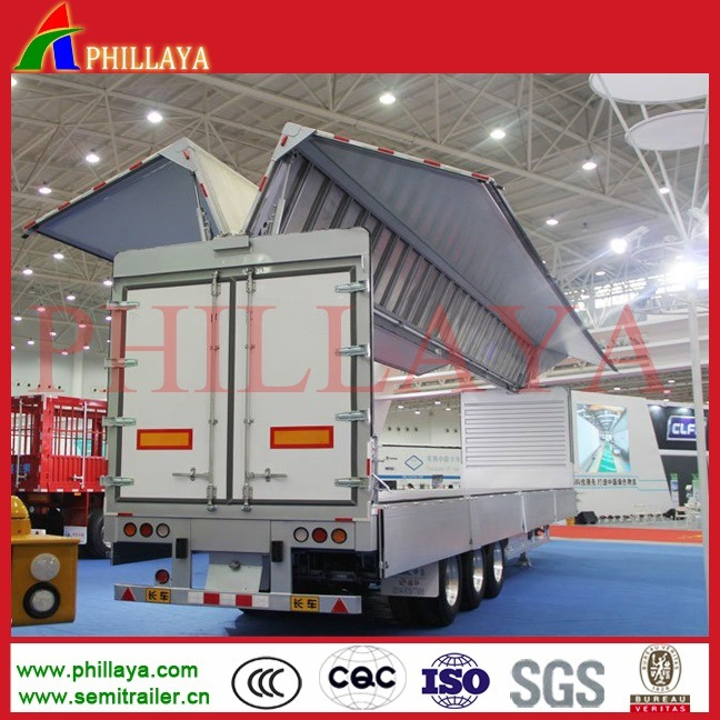 Tri-Axle Aluminum Winspan Trailer