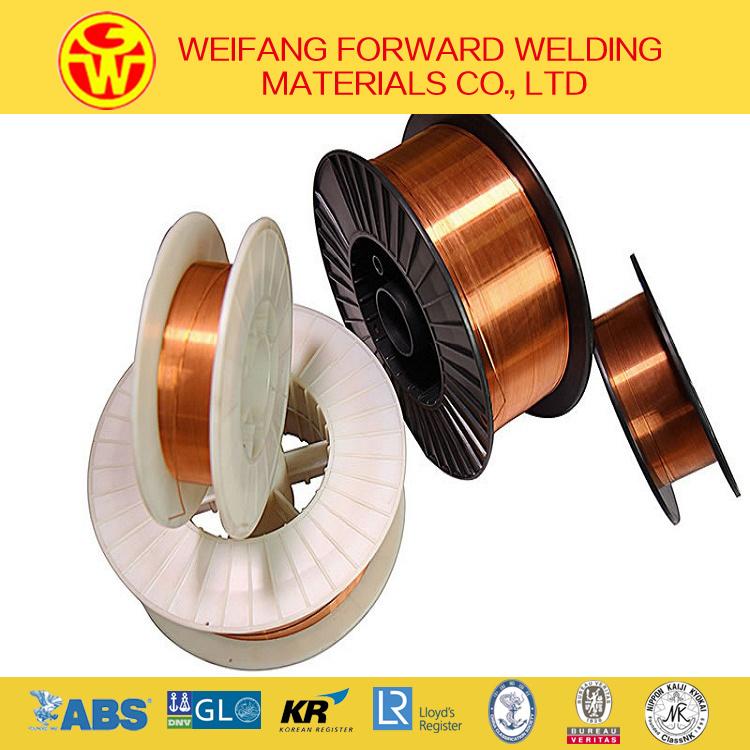 Golden Bridge Welding Wire 1.2mm 15kg/Spool Er70s-6 Solid Solder Welding Wire/ MIG Welding Wire with Copper Coated ISO9001
