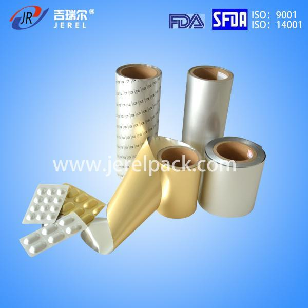 Alu Alu Aluminum Foil for Packaging Material