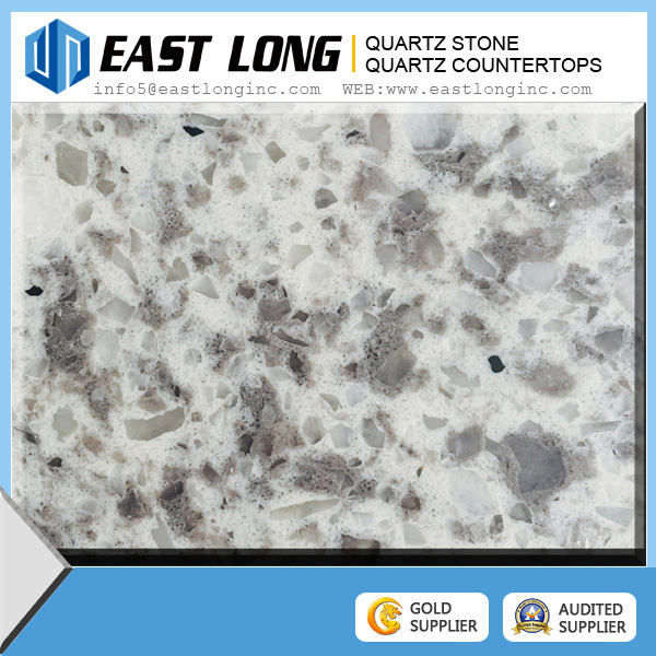 2016 New Double Color Quartz Stone, Artificial Quartz Stone Slabs