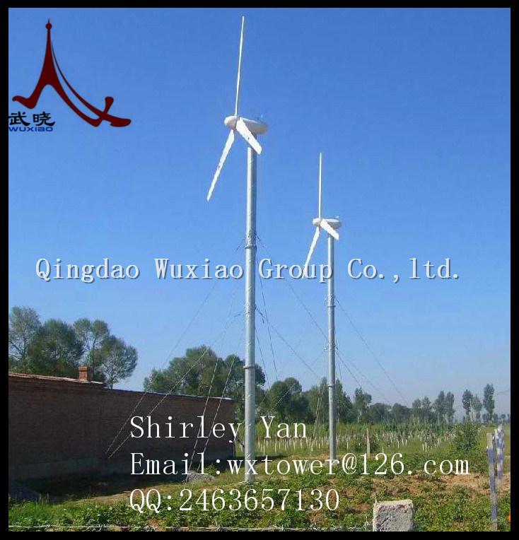 50kw Hydraulic Wind Steel Tower