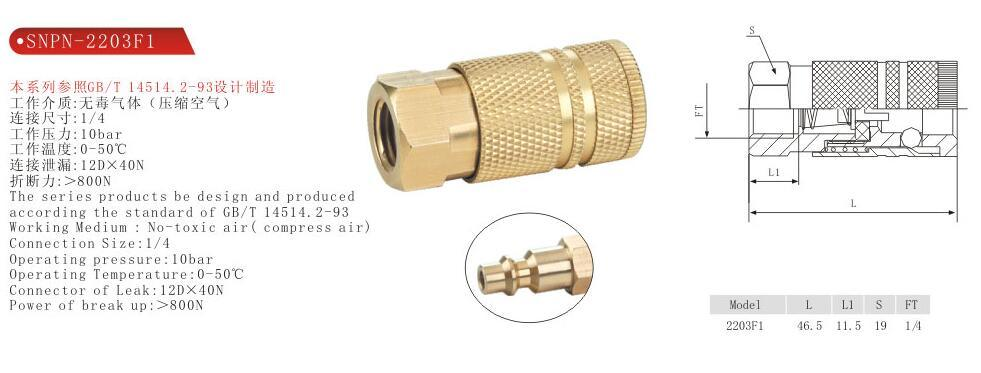 Brass Joint Fittings