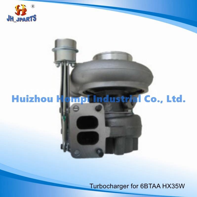 Truck Parts Turbocharger for Cummins/Dodge 6btaa Hx35W 3590104 3800397 Isx2/Hx55W