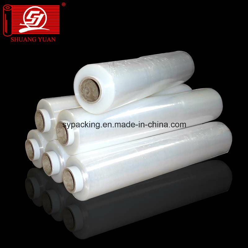 Stable Quality Packing Stretch Foil Transparent PE LLDPE Film PVC