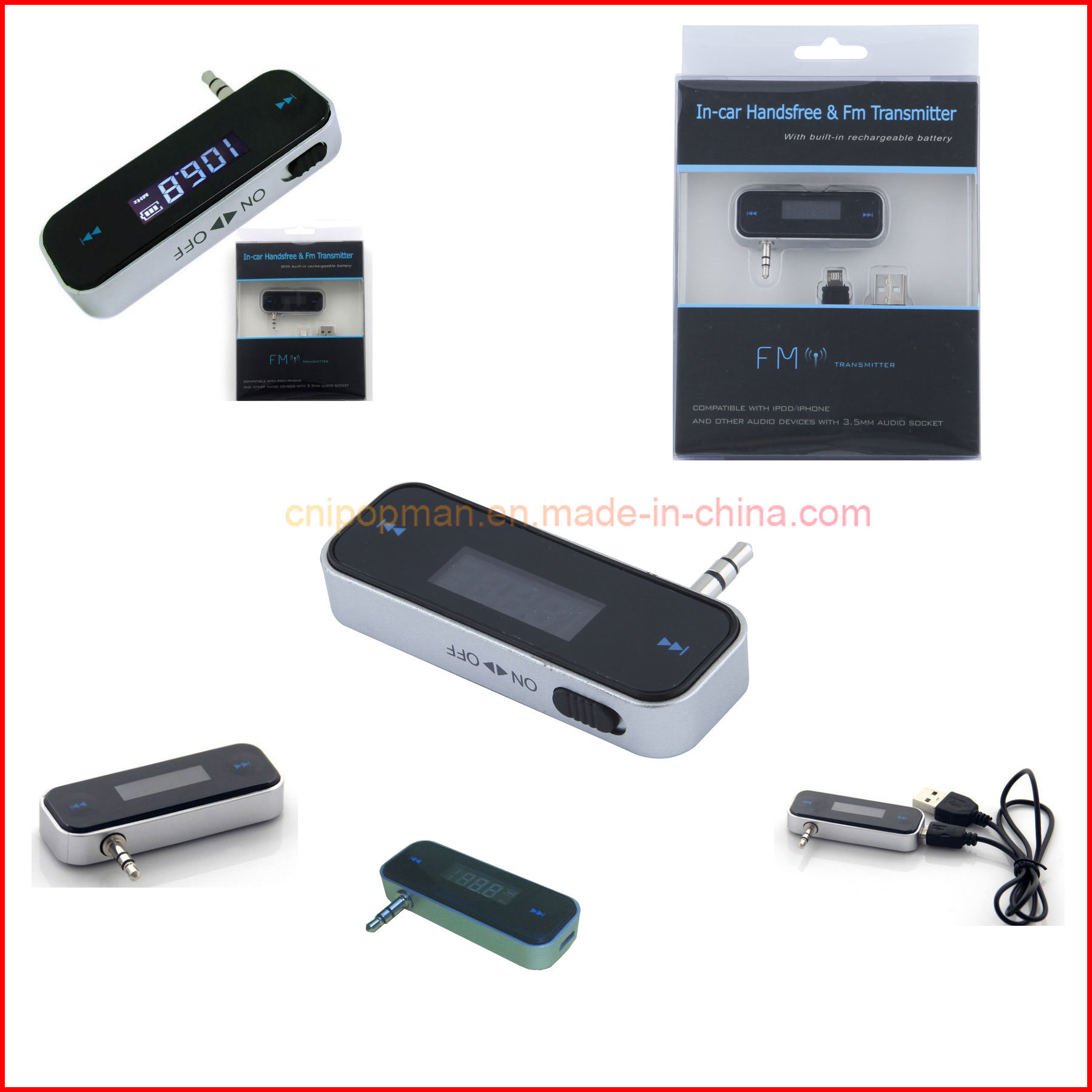 User Manual Car MP3 Player Car FM Transmitter