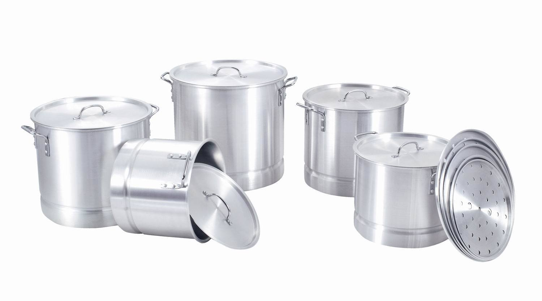 High Quality Golden Metallic Aluminum Ceramic Cookware