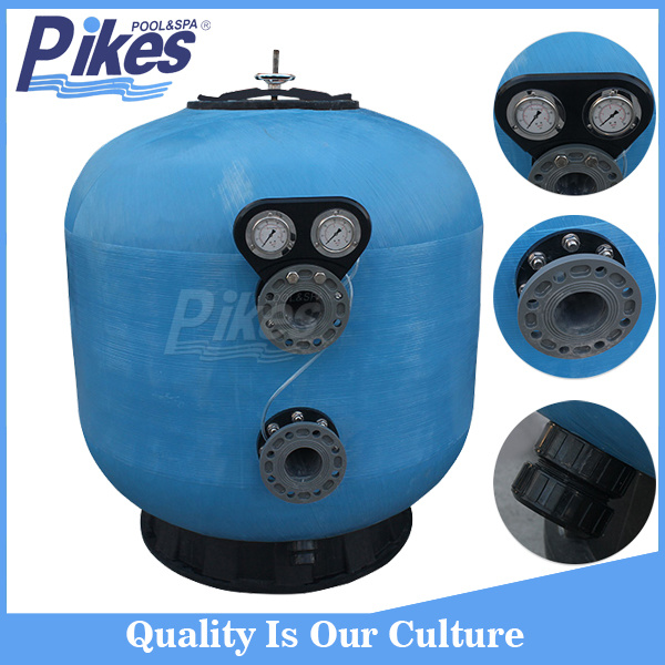 Side Mount Large Commercial Sand Filter