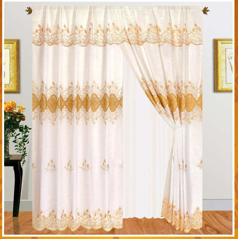kitchen curtains and polyester