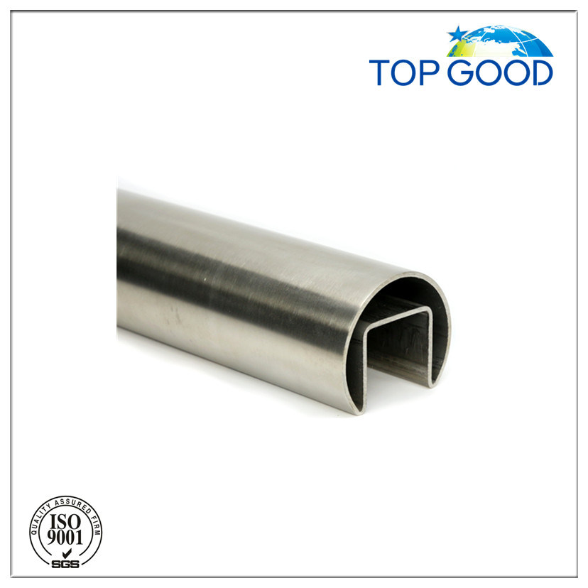Stainless Steel Ss304/316 Round Channel Tube/Slot Tube (51000)