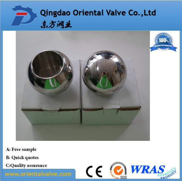 Chinese Manufacture Various Hollow Steel Ball, High Pressure Valve Part