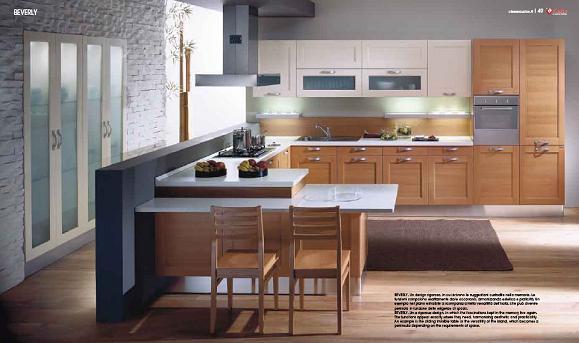 Double Pvc Foil Kitchen Cabintry