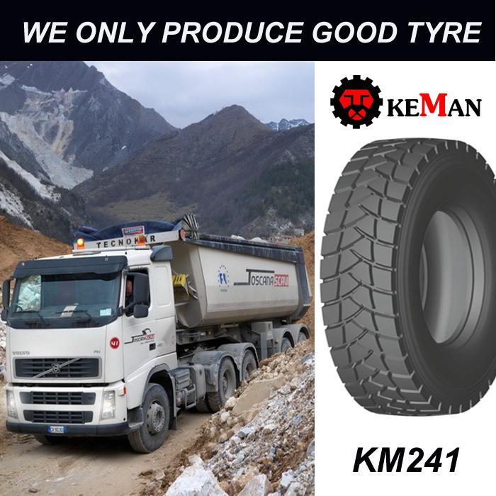 Km241 Drive Mud Truck Tyre, TBR Tyre