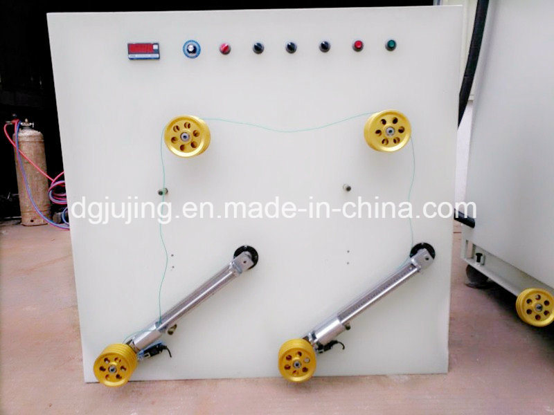 Vertical Double Bobbin Back Cable Twisting Machine Cable Machine